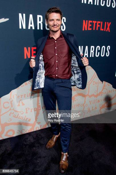 Pedro Pascal attends 'Narcos' season 3 New York Screening at AMC Loews Lincoln Square 13 theater on August 21 2017 in New York City
