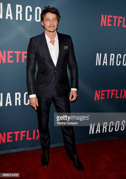 Pedro Pascal attends the premiere of Netflix's 'Narcos' season 2 at ArcLight Cinemas on August 24 2016 in Hollywood California