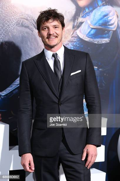 Pedro Pascal attends the premiere of Universal Pictures' 'The Great Wall' at TCL Chinese Theatre IMAX on February 15 2017 in Hollywood California