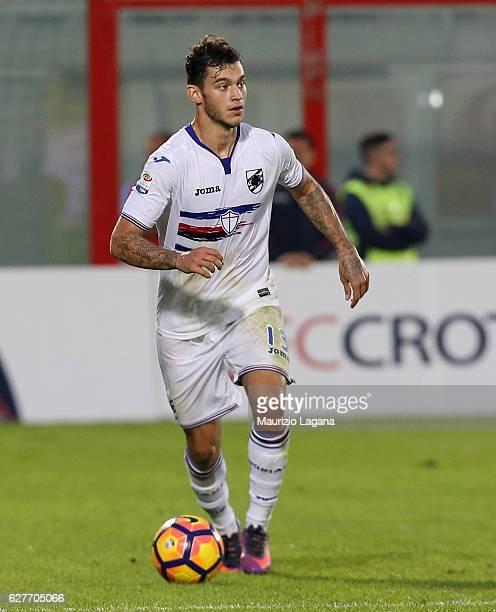 Pedro Pereira of Sampdoria during the Serie A match between FC Crotone and UC Sampdoria at Stadio Comunale Ezio Scida on November 27 2016 in Crotone...