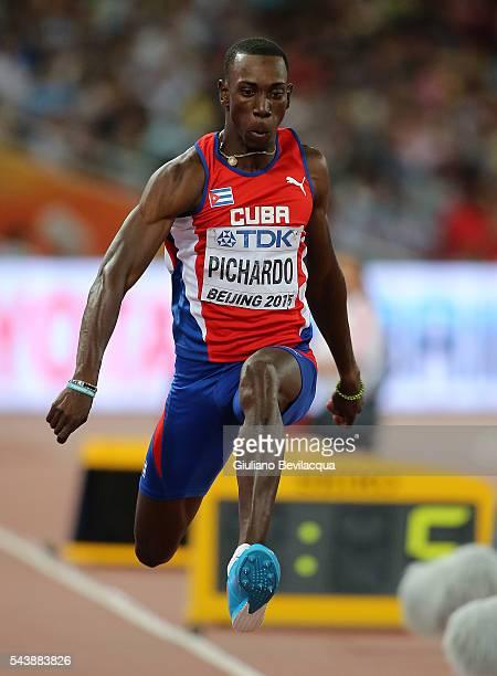 Pedro Pichardo of Cuba in the triplejump