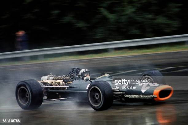 Pedro Rodriguez BRM P133 Grand Prix of France RouenLesEssarts 07 July 1968