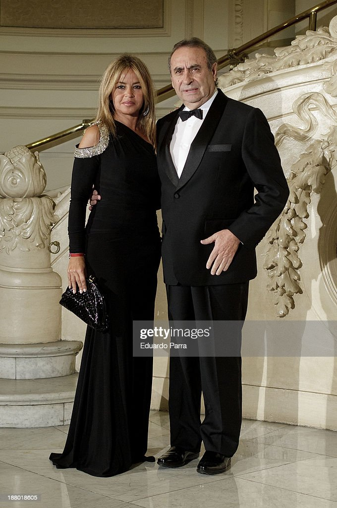 Pedro Trapote and wife Begona Garcia Vaquero attends the Ralph Lauren Dinner Charity Gala at the Casino de Madrid on November 14, 2013 in Madrid, Spain.