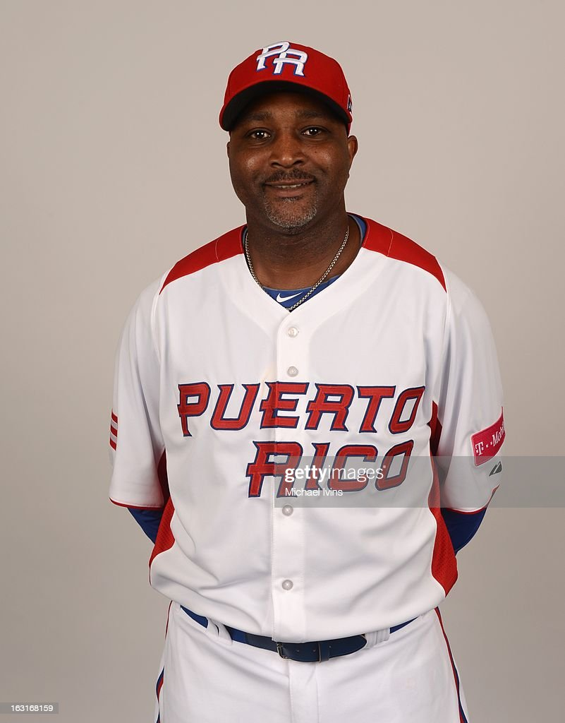Pedro Valdes #20 of Team Puerto Rico poses for a headshot for the 2013 World Baseball Classic at the City of Palms Baseball Complex on Monday, March 4, 2013 in Fort Myers, Florida.