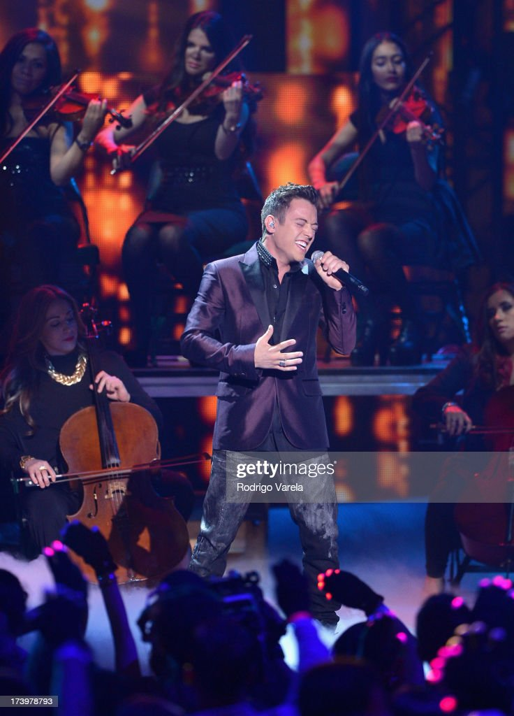 Pee Wee performs onstage during the Premios Juventud 2013 at Bank United Center on July 18, 2013 in Miami, Florida.