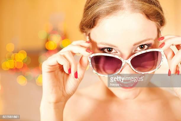 Peek through Sunglasses