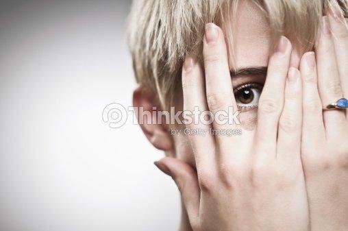 Peeking : Stock Photo