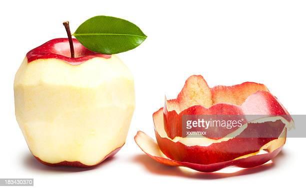 Peladas de manzana