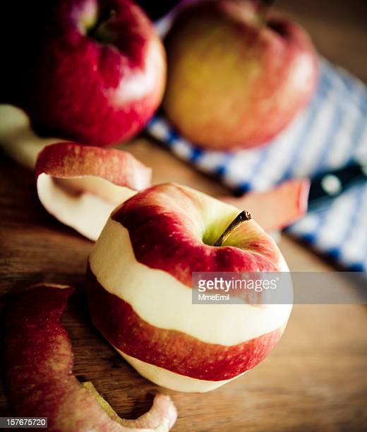 Éplucher des pommes