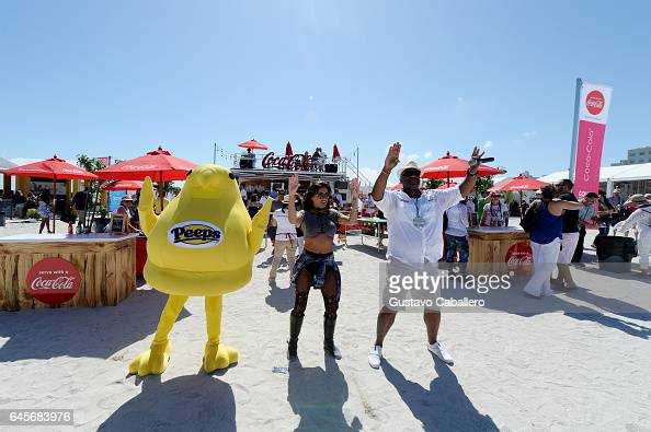 Peeps on display at Goya Foods' Grand Tasting Village Featuring Mastercard Grand Tasting Tents KitchenAid Culinary Demonstrations Day 2 on February...