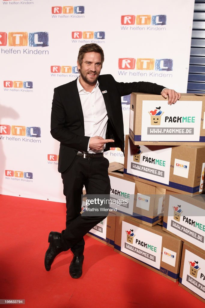 Peer Kusmagk attends the 'RTL Spendenmarathon' at RTL Studio Huerth on November 22, 2012 in Cologne, Germany.