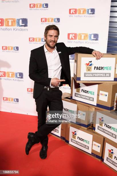 Peer Kusmagk attends the 'RTL Spendenmarathon' at RTL Studio Huerth on November 22 2012 in Cologne Germany