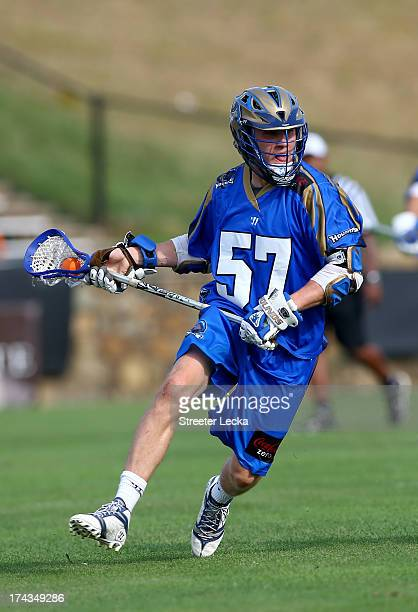 Peet Poillon of the Charlotte Hounds during their game at American Legion Memorial Stadium on July 20 2013 in Charlotte North Carolina