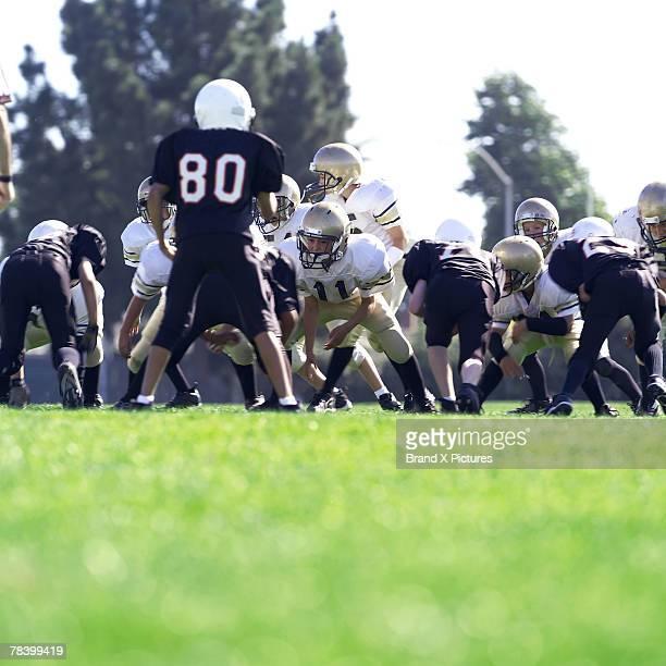 Peewee football game