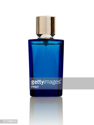 Pefume bottle (with clipping path)