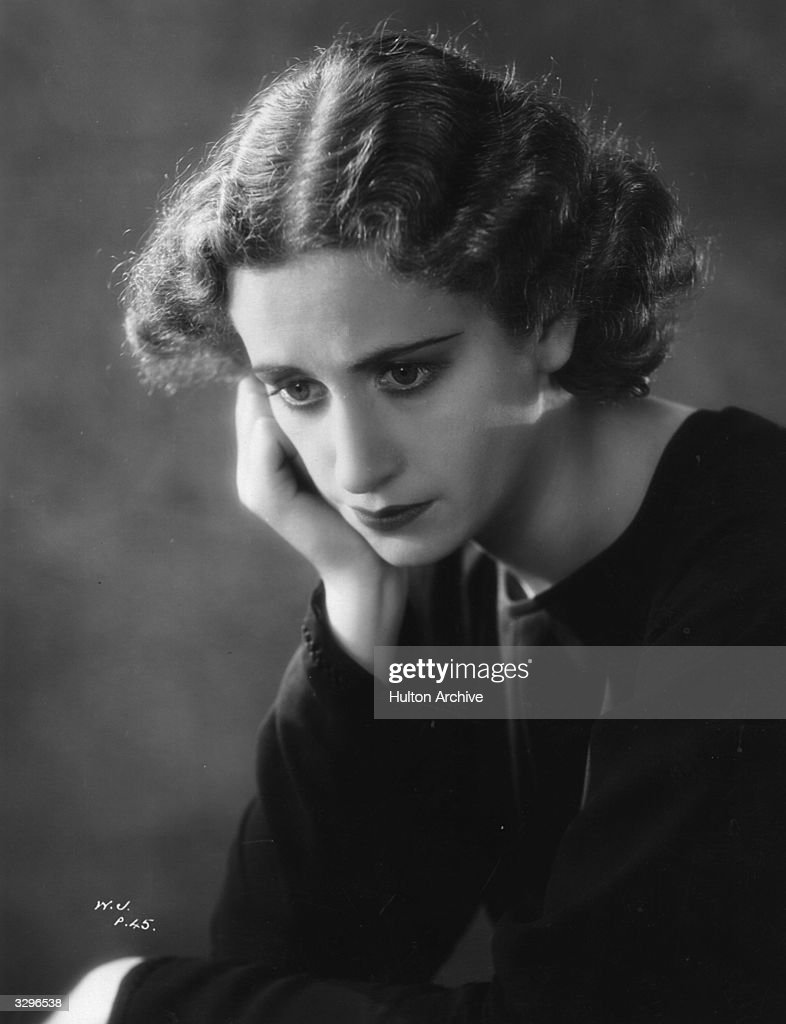 Peggy Ashcroft (1907 - 1991) the stage actress who stars in 'The Wandering Jew' a film version of the famous play. The film was directed by Maurice Elvey for Gaumont / Twickenham.