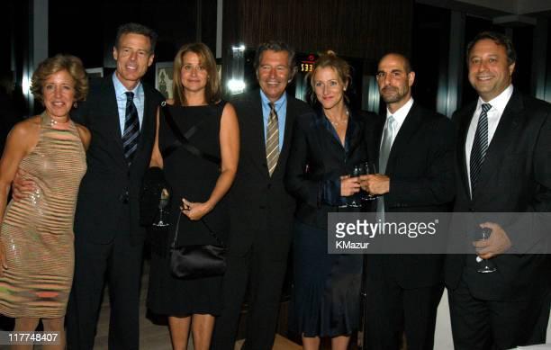 Peggy Bewkes Jeff Bewkes Lorraine Bracco Robert Shaye Edie Falco Stanley Tucci and Billy Siegel