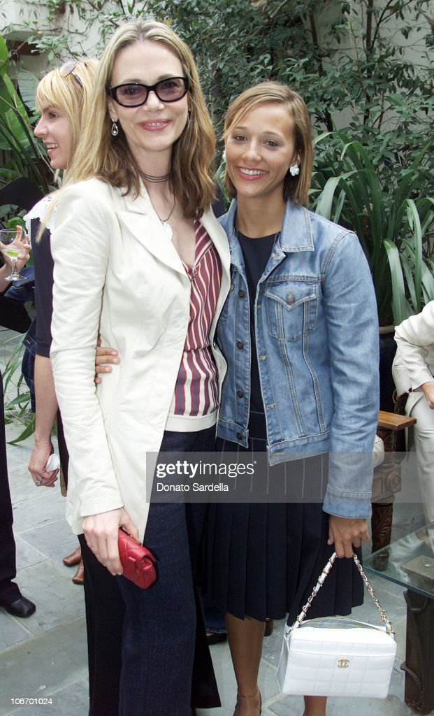 Peggy Lipton and Rashida Jones during Chanel Co-Hosts a Mother and Daughter Charity Luncheon to Benefit The Accelerated School at Guber's Home in Bel Air, California, United States.