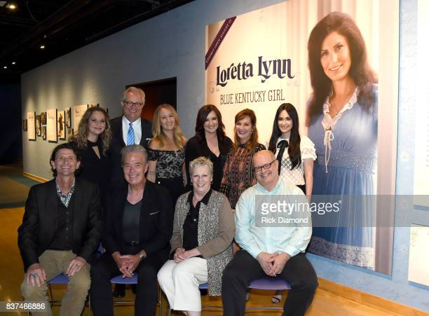 Peggy Lynn Country Music Hall of Fame and Museum's Kyle Young Margo Price Brandy Clark Patsy Lynn Russell Kacey Musgraves John Reed Tim Cobb Carolyn...