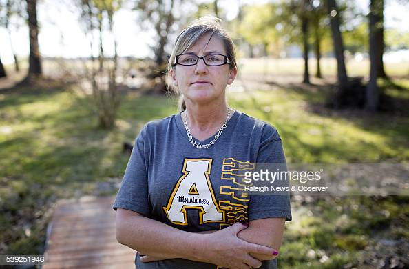 Peggy Martin the mother of Riley Martin an Appalachian State University grad who died in 2012 of a drug overdose poses for a portrait on April 18...