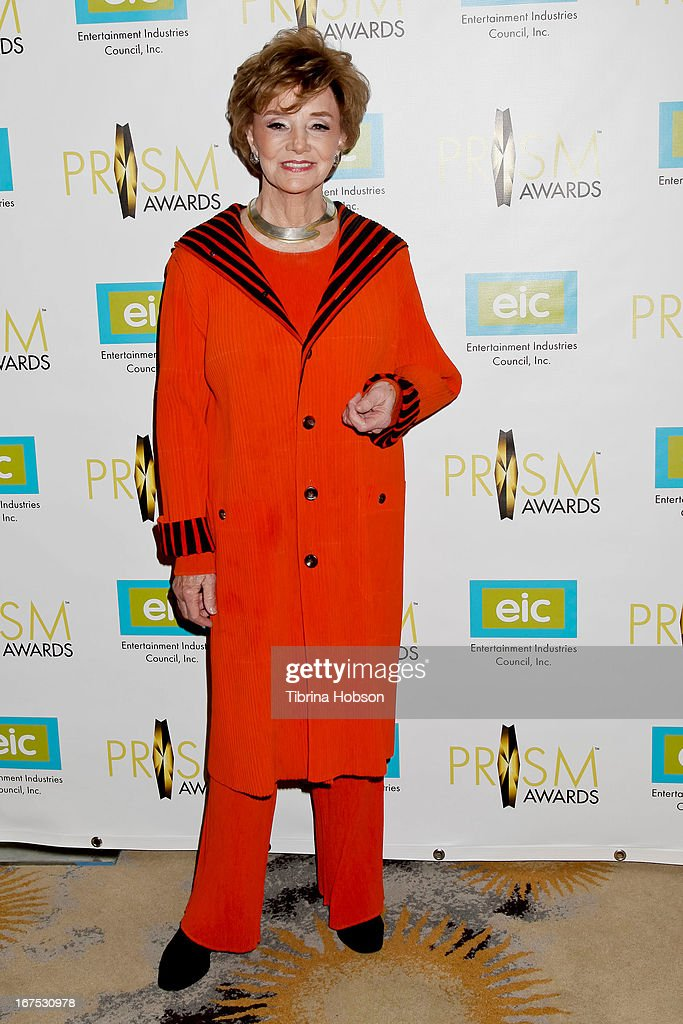 Peggy McCay attends the 17th annual Prism Awards at Beverly Hills Hotel on April 25, 2013 in Beverly Hills, California.