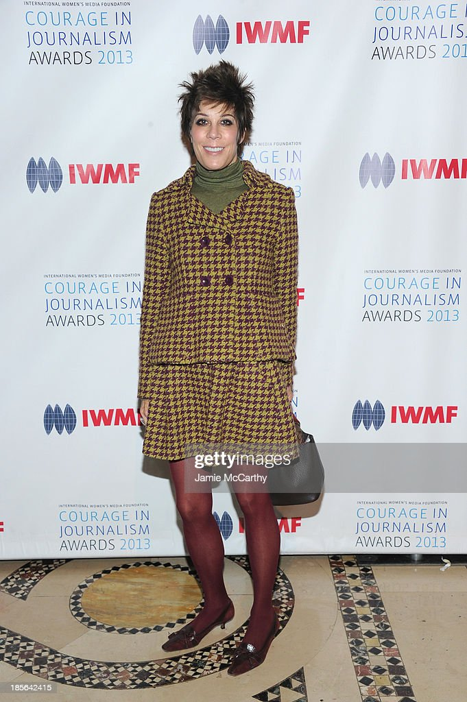 Peggy Siegal attends the International Women's Media Foundation's 2013 Courage In Journalism And Lifetime Achievement Awards at Cipriani 42nd Street on October 23, 2013 in New York City.