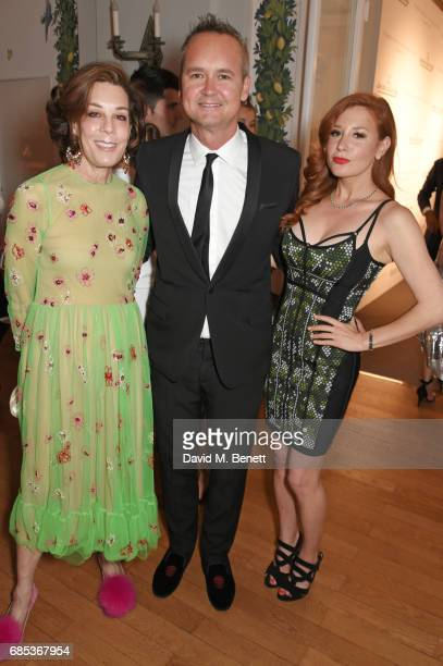 Peggy Siegal Roy Price and Lila Feinberg attend The 9th Annual Filmmakers Dinner hosted by Charles Finch and JaegerLeCoultre at Hotel du CapEdenRoc...