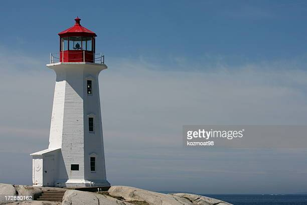Peggy's Cove Lighthouse, A Popular Nova Scotia Tourist Attraction