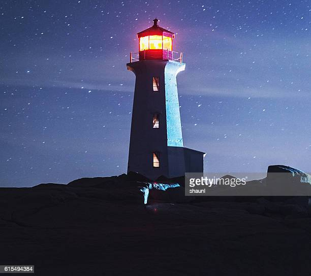 Peggy's Cove Moonlight