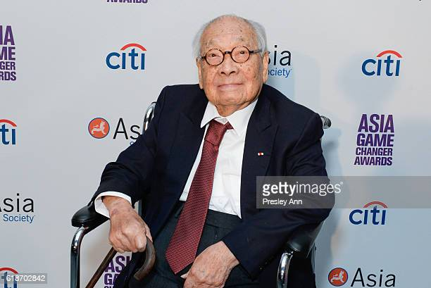 M Pei attends Asia Society Asia Game Changer Awards and Gala Dinner 2016 at United Nations on October 27 2016 in New York City
