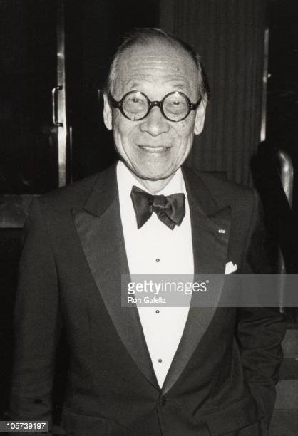 IM Pei during Bloomingdale's Party at the Metropolitan Museum of Art September 8 1988 at Metropolitan Museum of Art in New York City New York United...