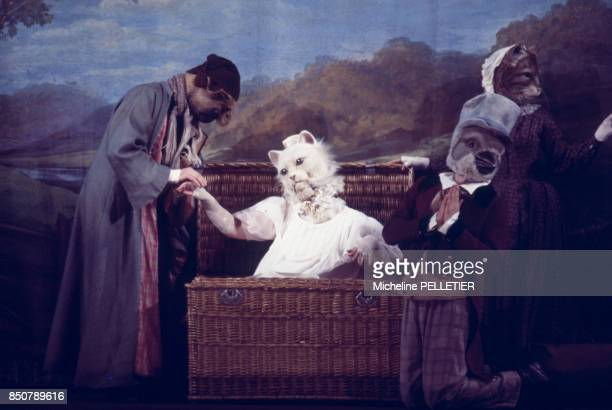 Peines de coeur d'une chatte anglaise' de Geneviève Serreau mise en scène par Alfredo ARIAS au théâtre de Paris en décembre 1979 France