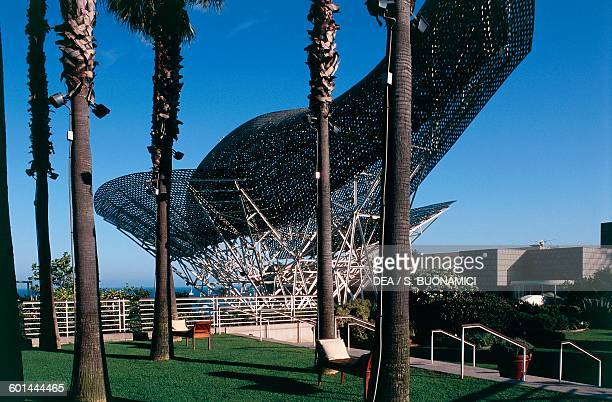 Peix d'Or or The Whale architect Frank Gehry Olympic Village Barcelona Catalonia Spain 20th century