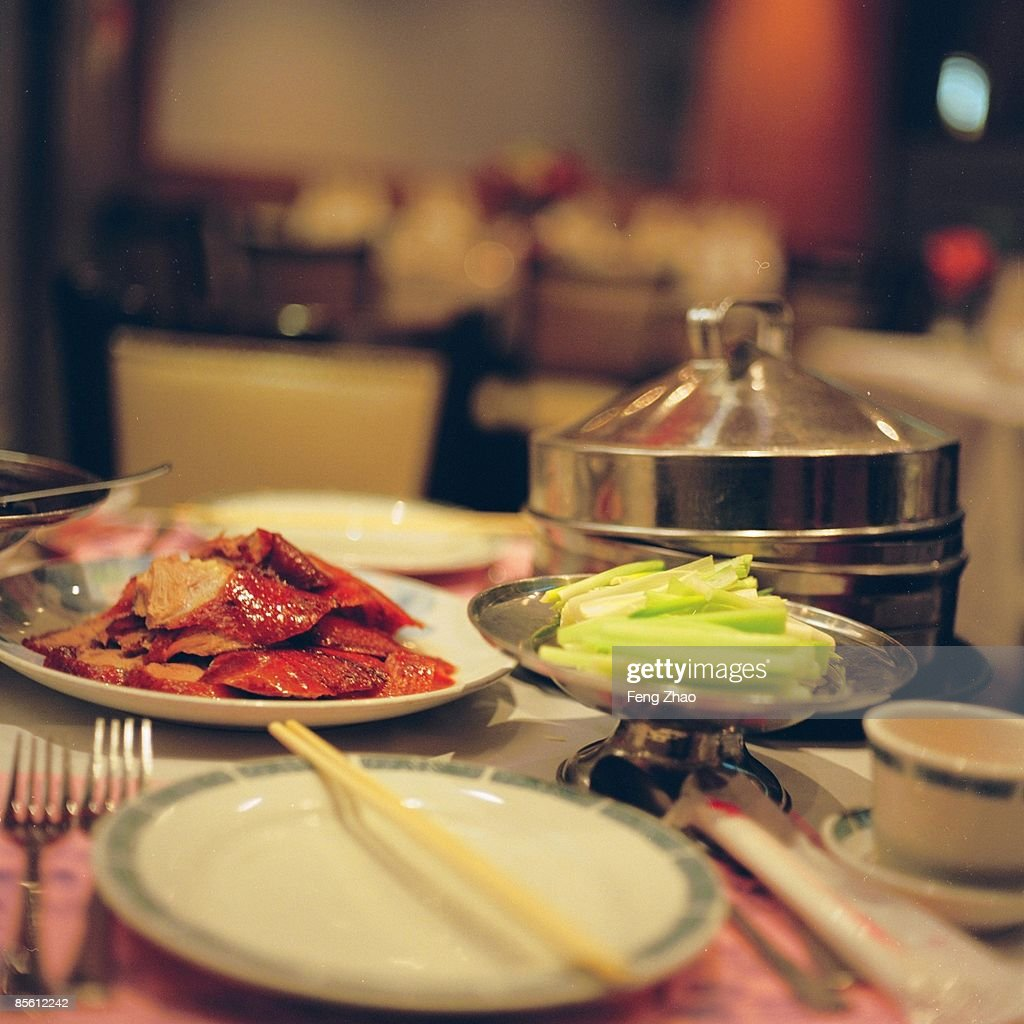 A Peking-Duck Meal : Stock Photo