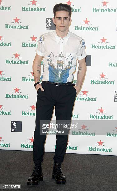Pelayo Diaz attends ARCOMadrid opening party photocall at Fernan Nunez palace on February 19 2014 in Madrid Spain