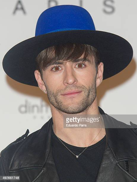 Pelayo Diaz attends 'Dinh Van' 50th Anniversary party at French Consulate on October 14 2015 in Madrid Spain
