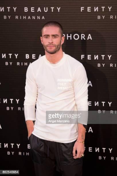 Pelayo Diaz attends Rihanna Fenty Beauty Presentation in Madrid on September 23 2017 in Madrid Spain