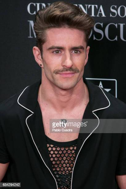 Pelayo Diaz attends the 'Fifty Shades Darker' premiere at Kinepolis Cinema on February 8 2017 in Madrid Spain