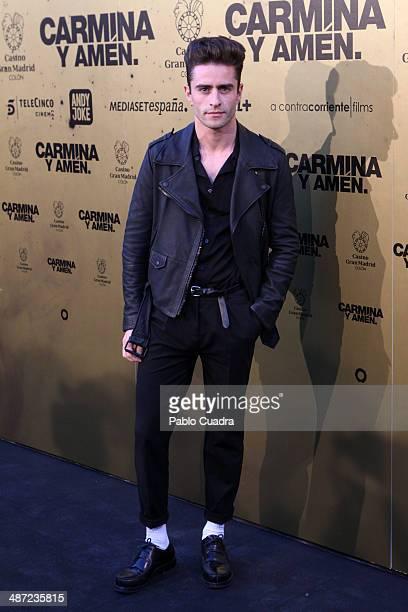 Pelayo Diaz Zapico attends 'Carmina Y Amen' Premiere on April 28 2014 in Madrid Spain