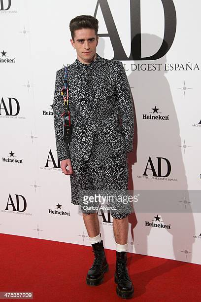 Pelayo Diaz Zapico attends the AD Awards 2014 at the Santa Coloma Palace on February 27 2014 in Madrid Spain