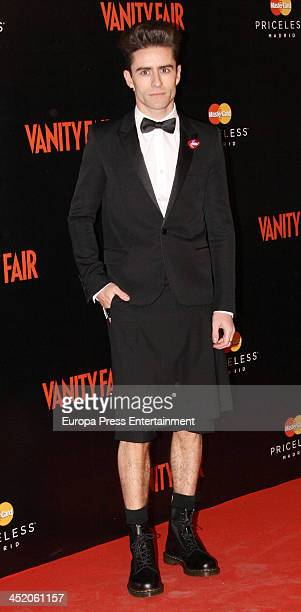 Pelayo Diaz Zapico attends the 'Cocktail Surrealista' by Vanity Fair Magazine at Thyssen Museum on November 25 2013 in Madrid Spain