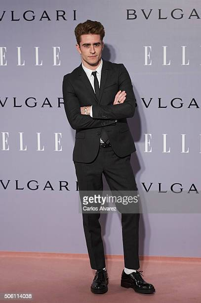 Pelayo Diaz Zapico attends the Eugenia Silva's birthday at the Museum at the El Museo del Traje on January 21 2016 in Madrid Spain
