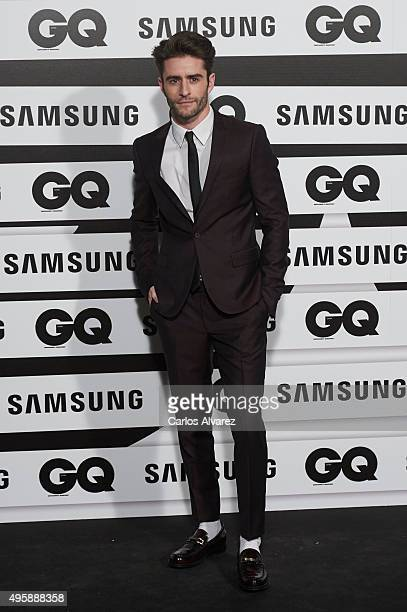 Pelayo Diaz Zapico attends the GQ Men of The Year 2015 Awards at the Palace Hotel on November 5 2015 in Madrid Spain