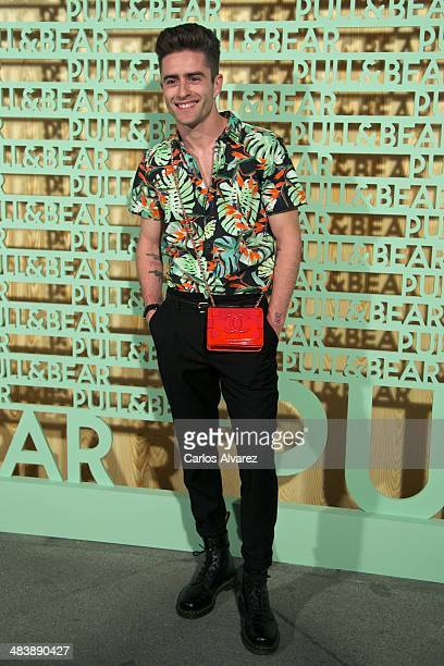 Pelayo Diaz Zapico attends the 'Pull Bear' party at the Cibeles Palace on April 10 2014 in Madrid Spain