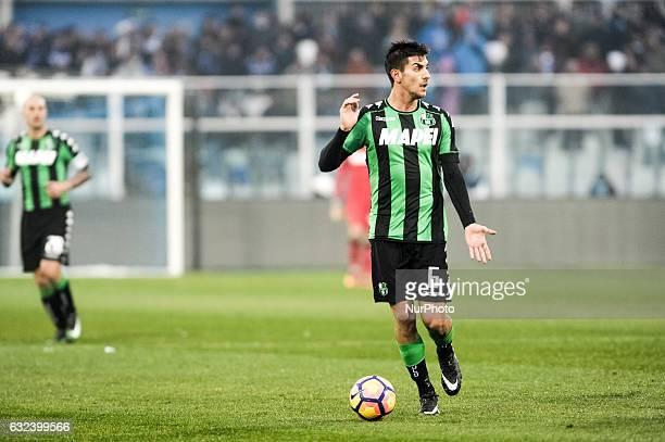 Pellegrini Lorenzo during the match Pescara vs Sassuolo of sere A TIM in Pescara Italy on 22 January 2017
