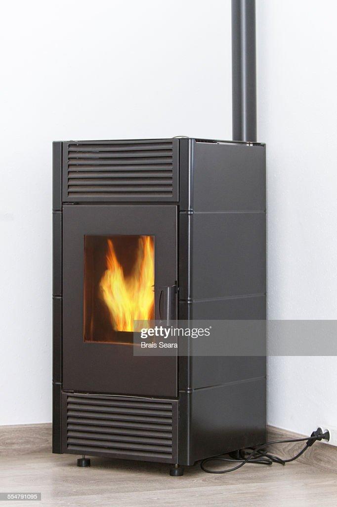 Pellets heater