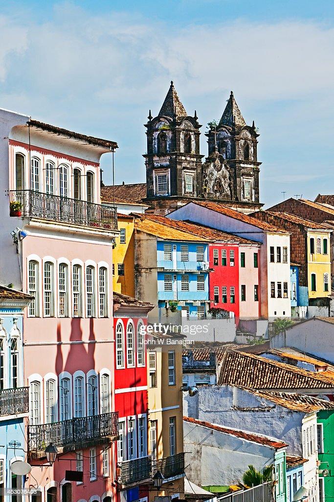 Pelourinho district, Salvador, Brazil