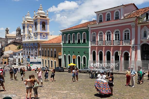 Pelourinho Salvador, in Brasile em