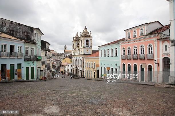 Pelourinho in Salvador, Bahia, Brazil.