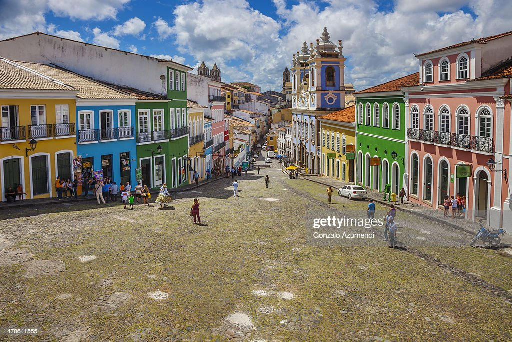 Pelourinho in Salvador de Bahia.